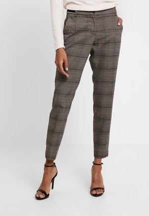 Spodnie materiałowe - bordeaux