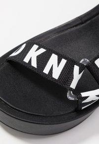 DKNY - AYLI - Platform sandals - black - 2