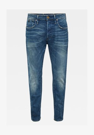 LOIC RELAXED TAPERED ANTIC FADED OREGON BLUE MEN - Jeans Tapered Fit - antic faded oregon blue
