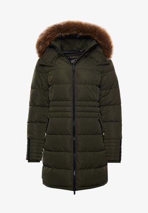 KUMANO  - Winter coat - army khaki