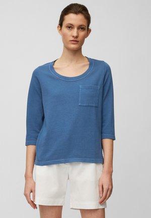 Long sleeved top - lake blue