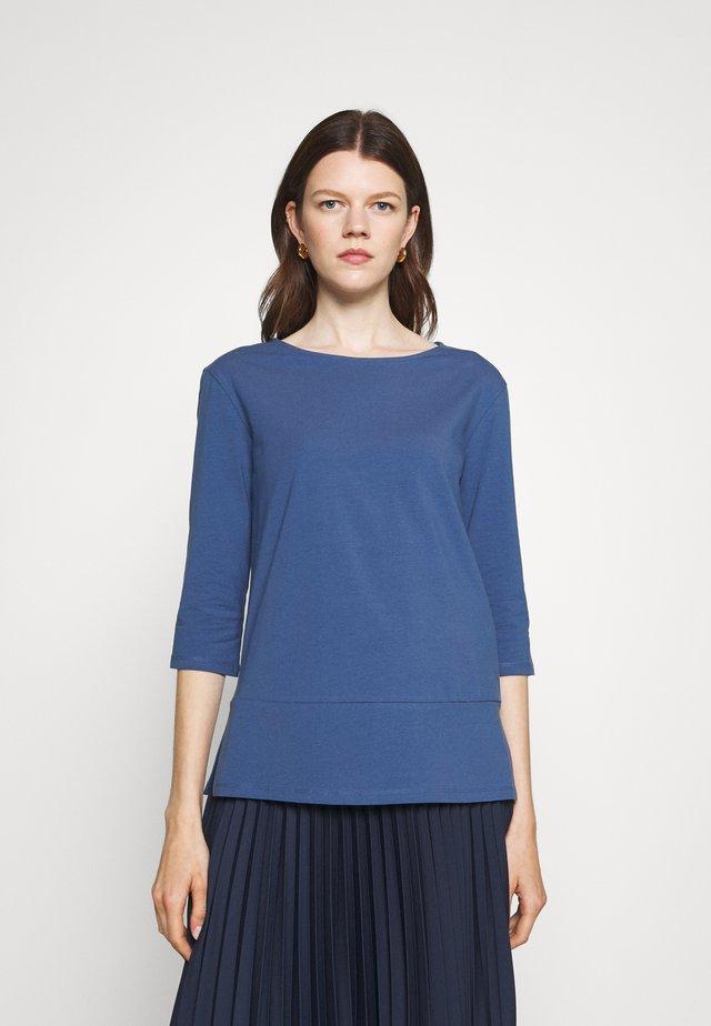 MULTIA - Long sleeved top - dusty blue