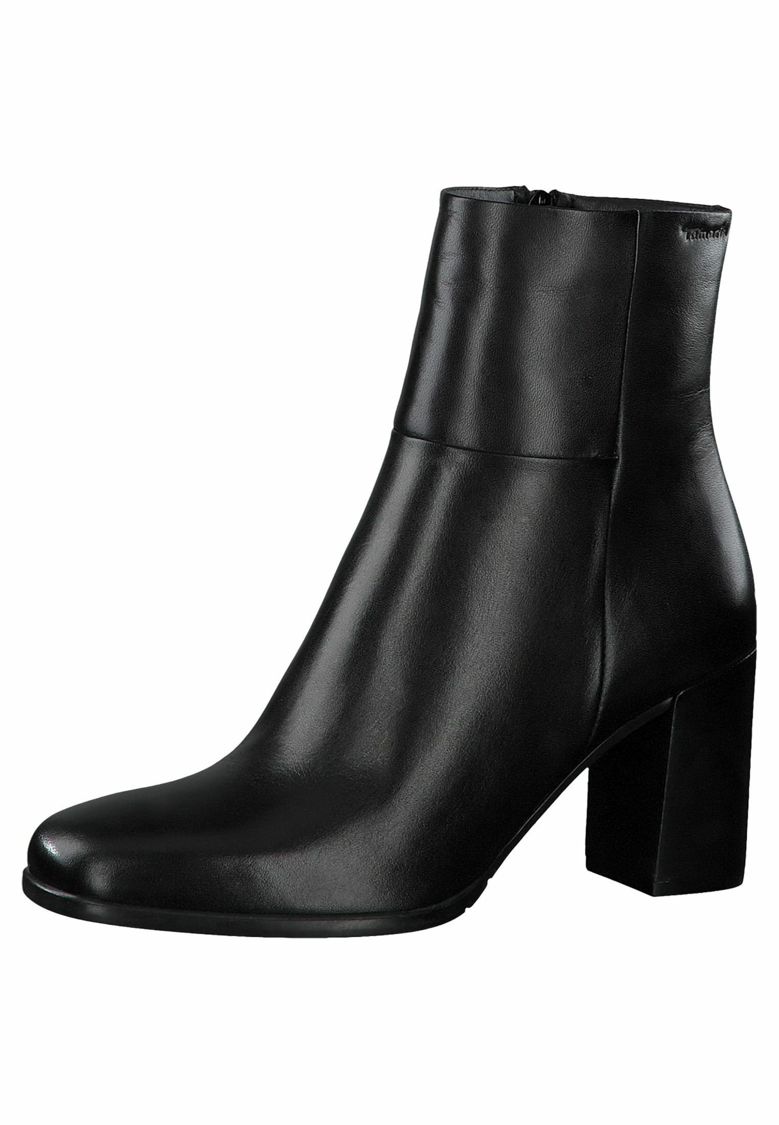 Tamaris STIEFELETTE Ankelboots black leather