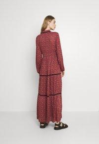 Vero Moda - VMALICE ANCLE DRESS - Maxi dress - marsala/rosey - 2