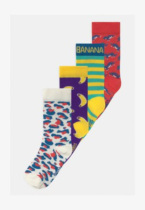MONKEY TIGER 4 PACK - Socks - multicolour
