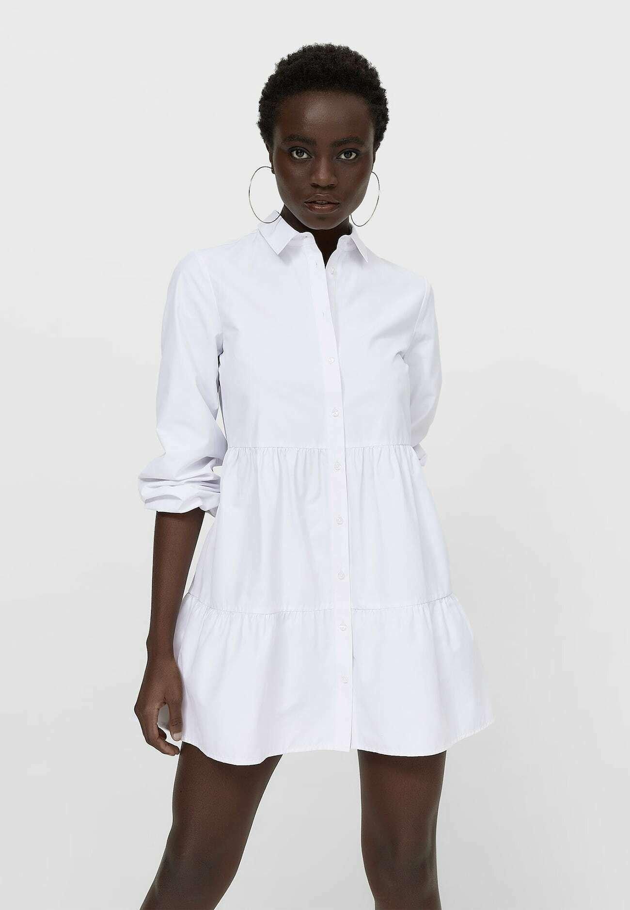 Donna POPELIN - Abito a camicia