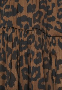 Banana Republic - TIE NECK SHIFT PRINT - Day dress - brown - 5