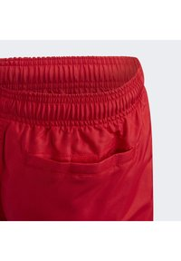 adidas Performance - BADGE OF SPORT PRIMEGREEN REGULAR SWIM SHORTS - Swimming shorts - red - 6