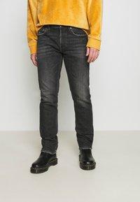 Replay - GROVER - Straight leg jeans - dark grey - 0