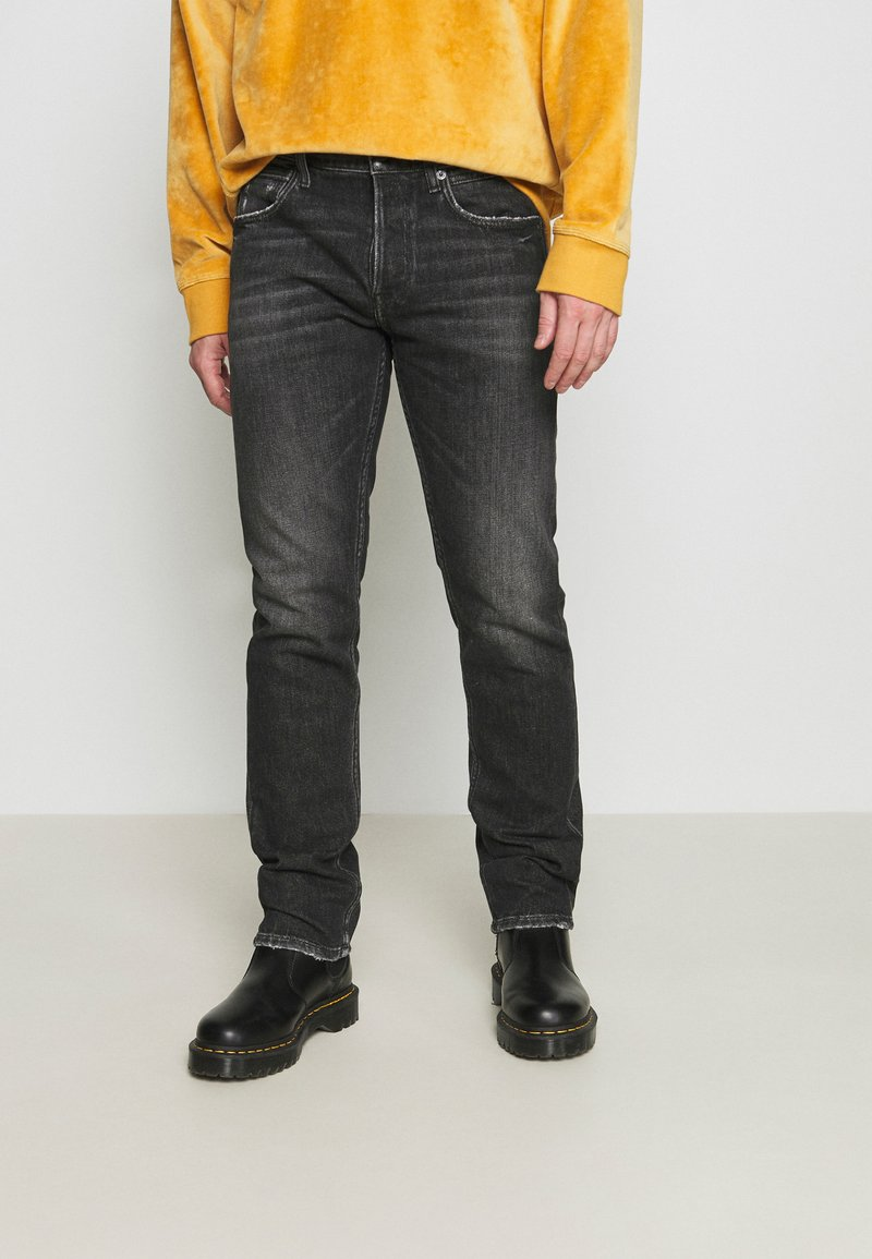Replay - GROVER - Straight leg jeans - dark grey