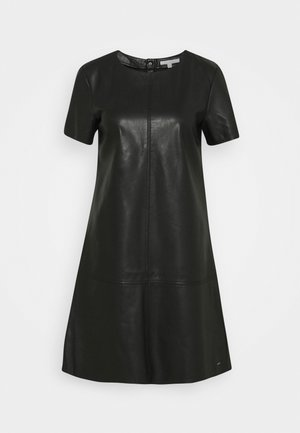 MINI DRESS - Day dress - deep black