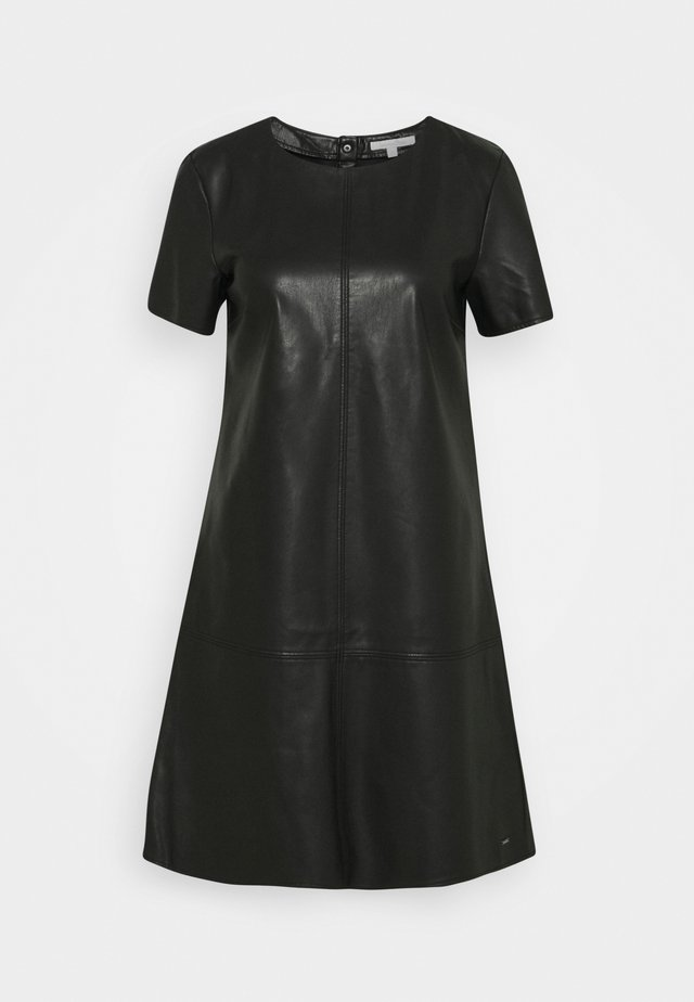 MINI DRESS - Robe d'été - deep black