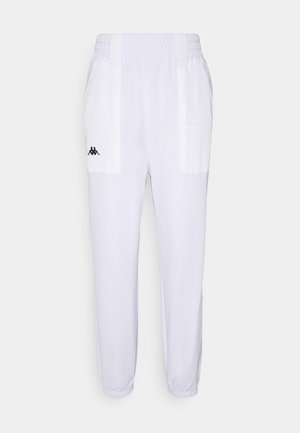 IVYNALA - Tracksuit bottoms - bright white