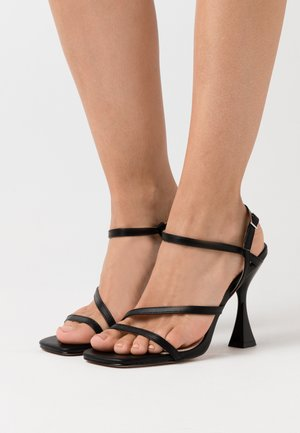 KLIN - High heeled sandals - black