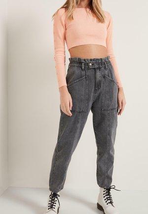 Slim fit jeans - nero jeans