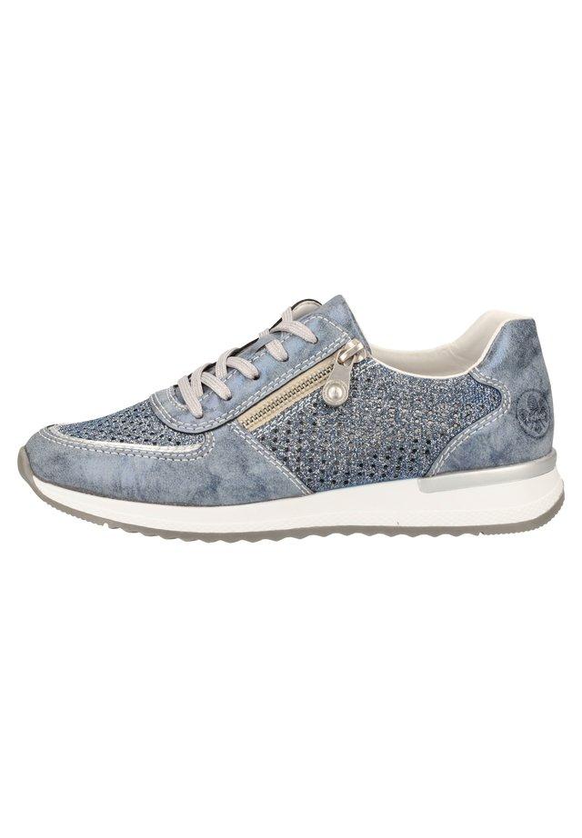RIEKER SNEAKER - Sneakers basse - royal/argento/tinte 14