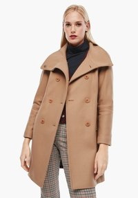 s.Oliver - Classic coat - brown - 5
