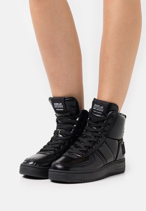 HIGHLINE - High-top trainers - black