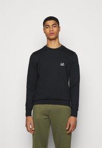 C.P. Company - CREW NECK - Sweatshirt - black - 0