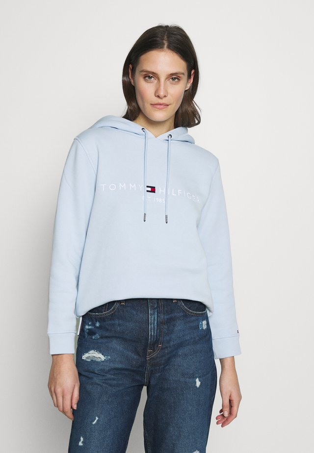 HOODIE - Jersey con capucha - breezy blue