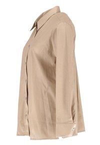 Opus - Button-down blouse - beige - 3