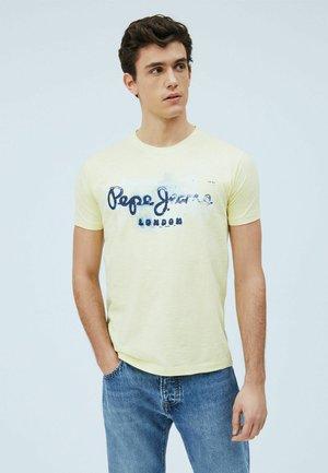 GOLDERS - Print T-shirt - sorbet lemon