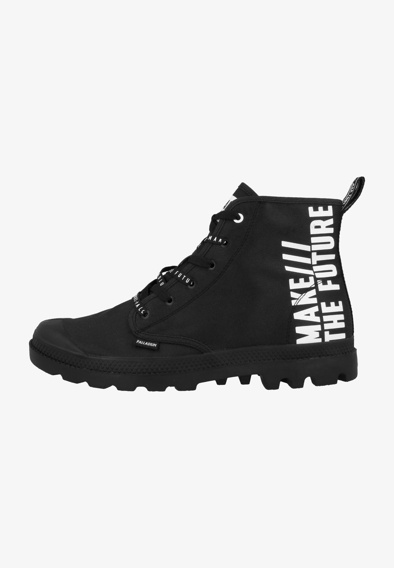 Palladium - PAMPA FUTURE - Lace-up ankle boots - black