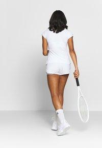 adidas Performance - CLUB - Sports shorts - white/silver/black - 2