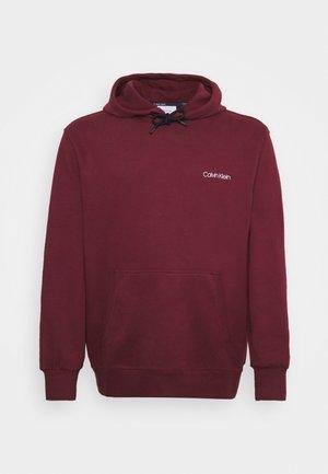 CHEST LOGO HOODIE - Sweatshirt - tawny port