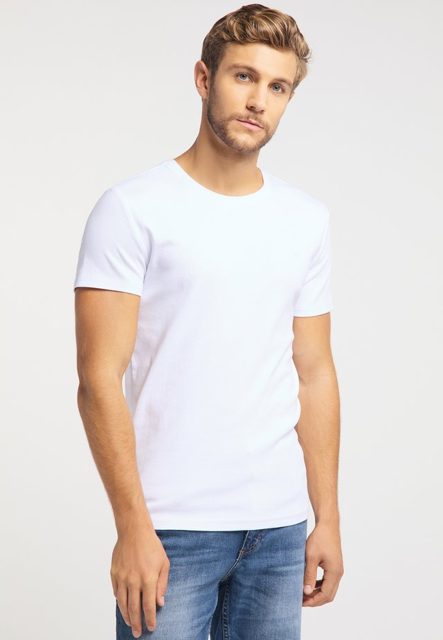 AARON - Basic T-shirt - white