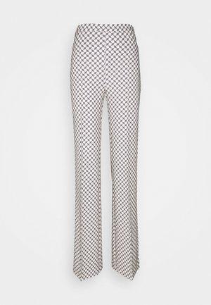 Trousers - burro/nero