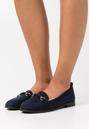 WIDE FIT LOON SNAFFLE LOAFER - Mocassins - navy