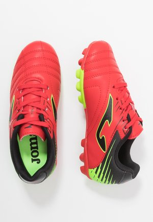 TOLEDO - Moulded stud football boots - rot