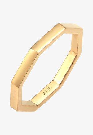 BASIC ANGLED TREND - Ring - gold-coloured
