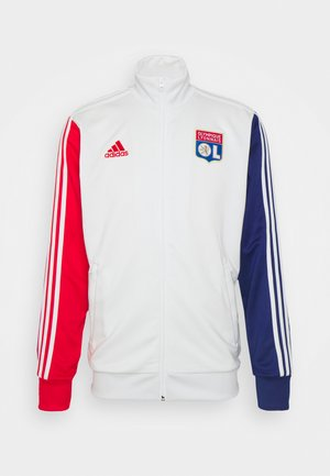 OLYMPIQUE LYON 3S TRK TOP - Klubové oblečení - white tint/vivid red/victory blue