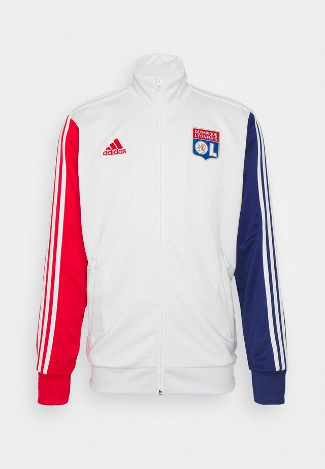 OLYMPIQUE LYON 3S TRK TOP - Vereinsmannschaften - white tint/vivid red/victory blue