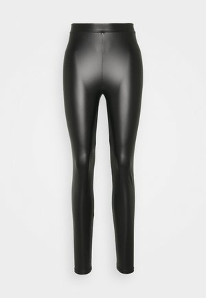 IHJUANICE  - Leggings - Trousers - black
