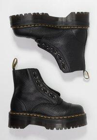 Dr. Martens - SINCLAIR - Platform ankle boots - black/aunt sally - 3