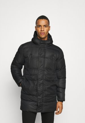 LONGLINE JACKET - Winter coat - black
