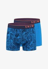 Shiwi - 2 pack- MANGROVE - Onderbroeken - electric blue - 4