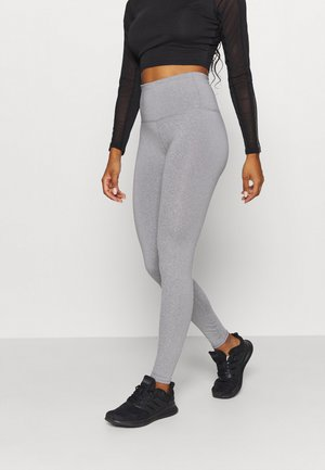 ACTIVE HIGH WAIST CORE - Leggings - mid grey marle