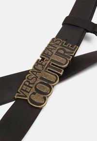 Versace Jeans Couture - Pasek - black/gunmetal - 5