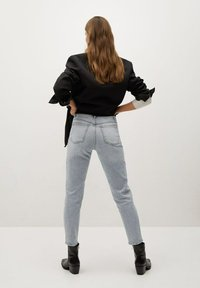 Mango - Slim fit jeans - grijs denim - 2