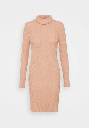 Jumper dress - powder pink
