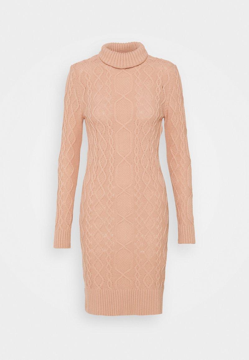 Trendyol - Strikket kjole - powder pink