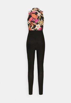 BOMB LONG JANE - Costume da bagno - black/pink