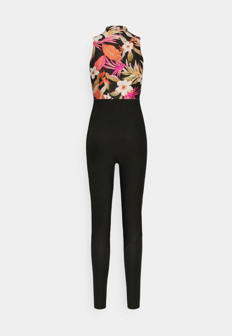 Rip Curl - BOMB LONG JANE - Swimsuit - black/pink