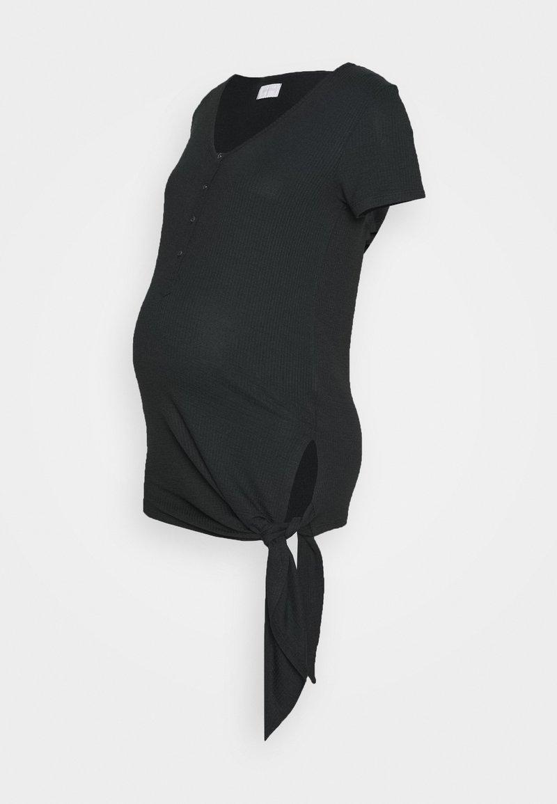 MAMALICIOUS - MLFIA LIA - T-shirts - black