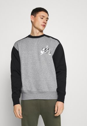 CREW - Collegepaita - carbon heather/black