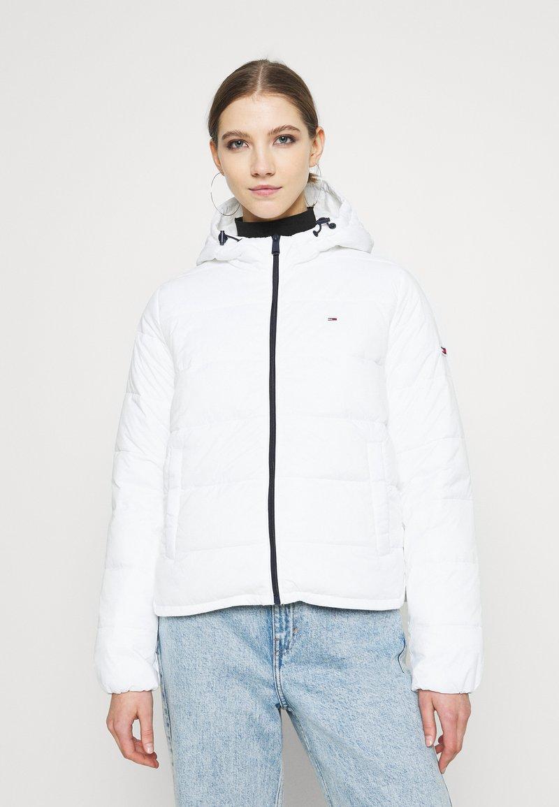 Tommy Jeans - SIDE SLIT JACKET - Light jacket - white